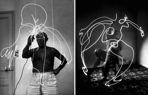 Image result for picasso bull with light