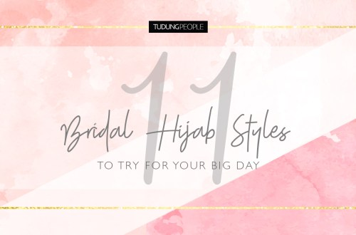 11 Bridal hijab styles to try