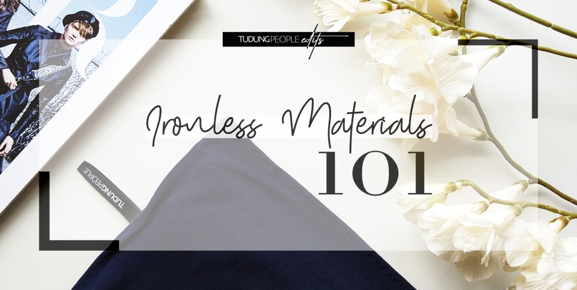 Ironless hijab materials 101