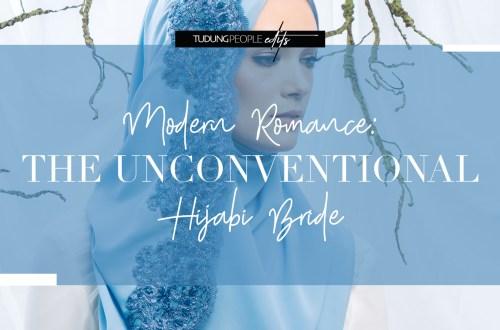 modern romance - unconventional hijabi bride