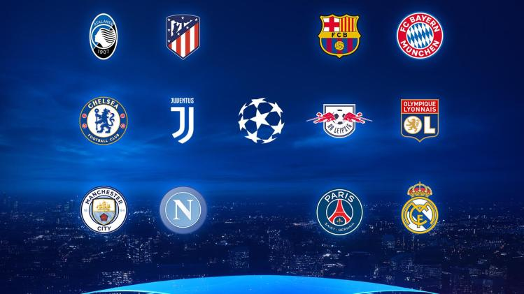 Round Of 16 Champions League 2020 : Champions League Round ...
