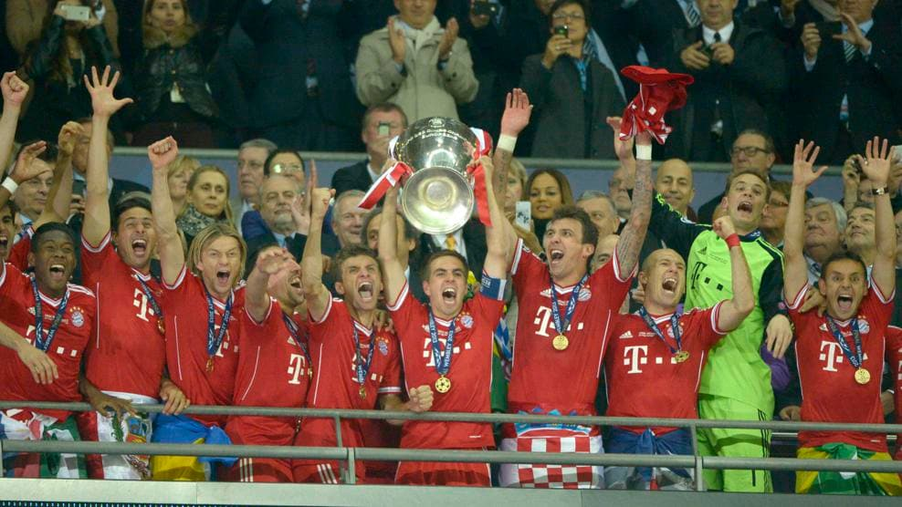 Watch goals from all six of Bayern's European Cup wins