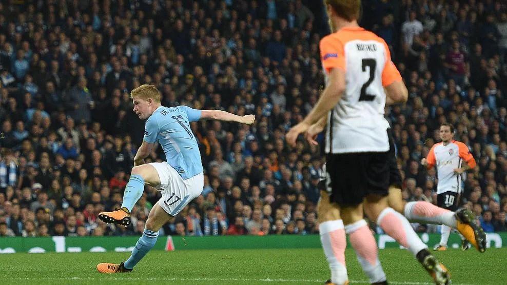 Classic Manchester City Champions League goals
