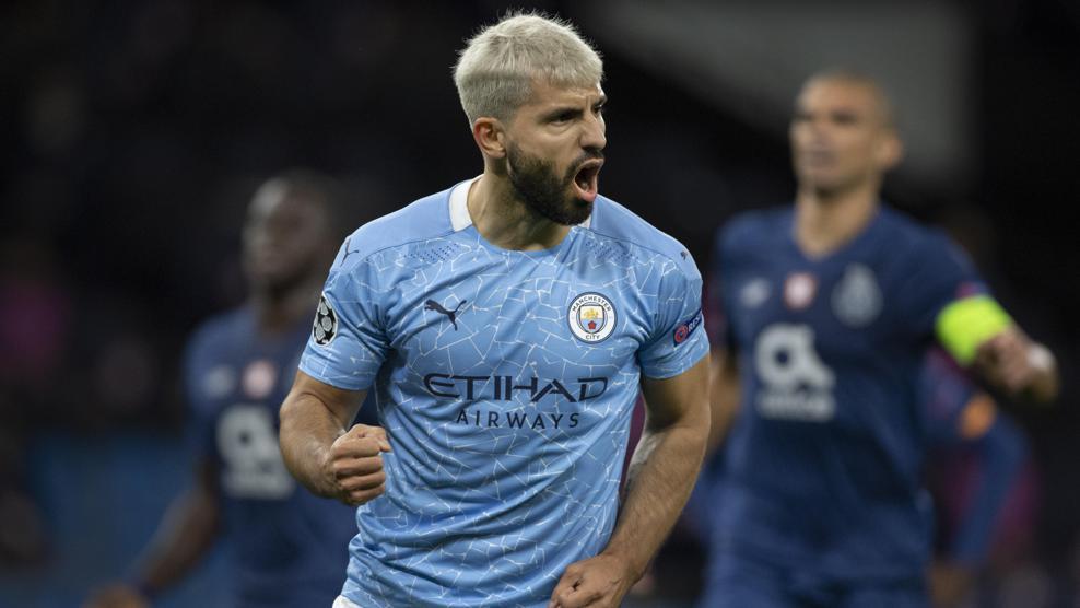 Sergio Agüero: All his Champions League goals for Manchester City