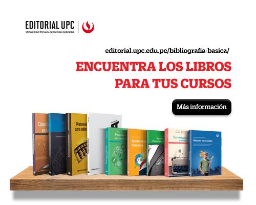 Concurso: ¿Qué tanto sabes de los libros de Editorial UPC y dónde los puedes encontrar?