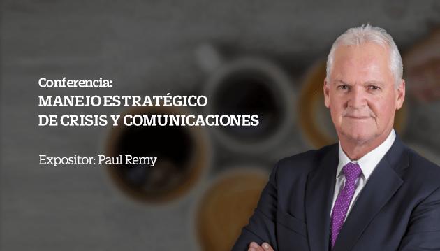 """Conferencia: """"Manejo estratégico de crisis y comunicaciones"""""""