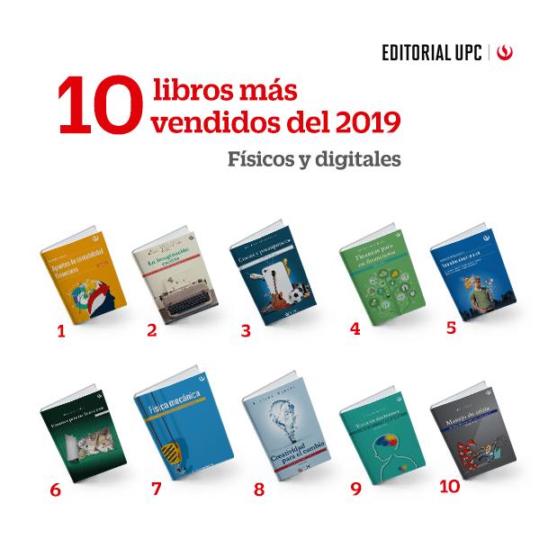 Cuáles son y de qué tratan los 10 libros de Editorial UPC más vendidos del año 2019