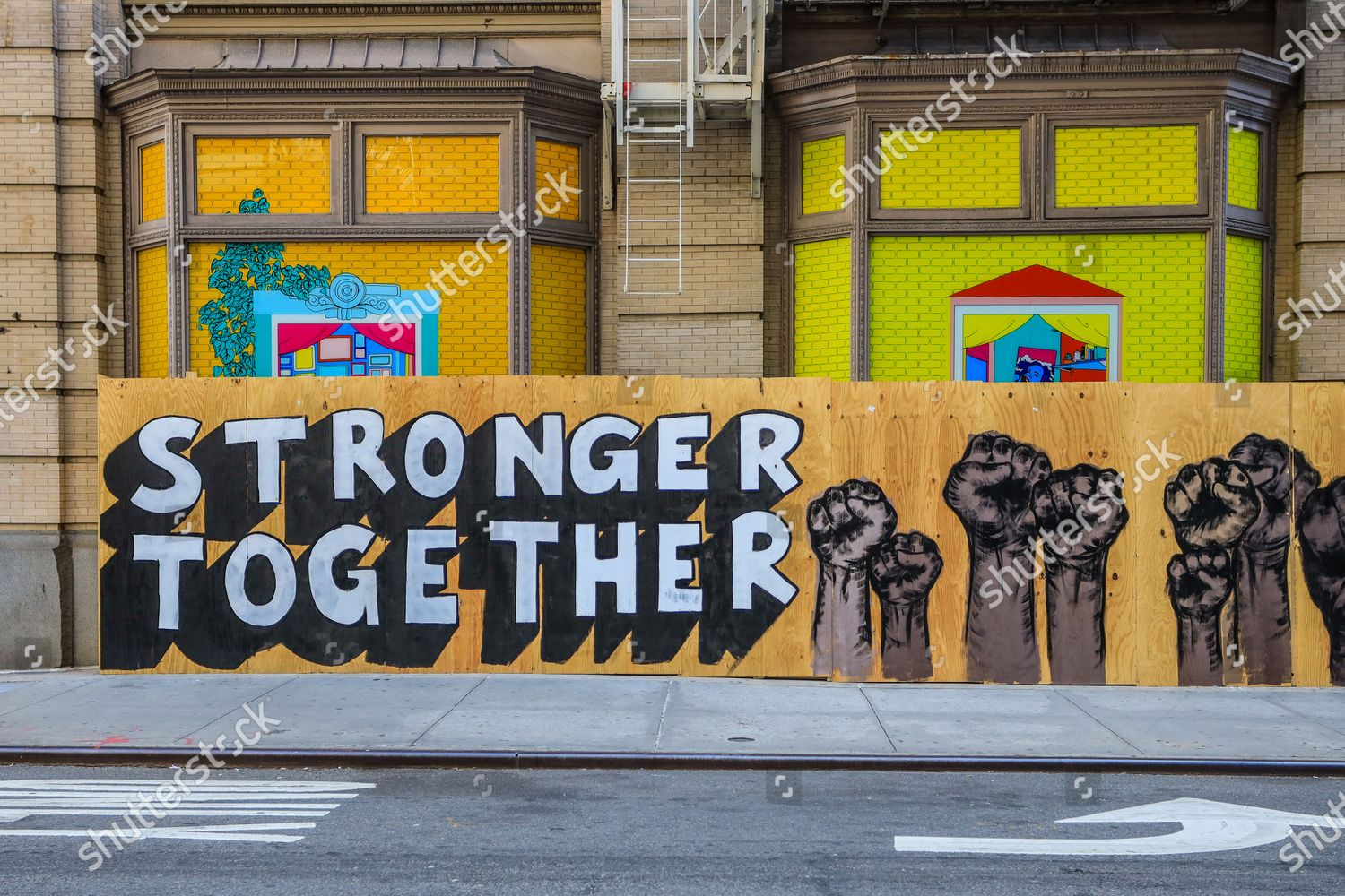 Hd wallpapers and background images Mural Against Racism Phrases Black Lives Matter Editorial Stock Photo Stock Image Shutterstock