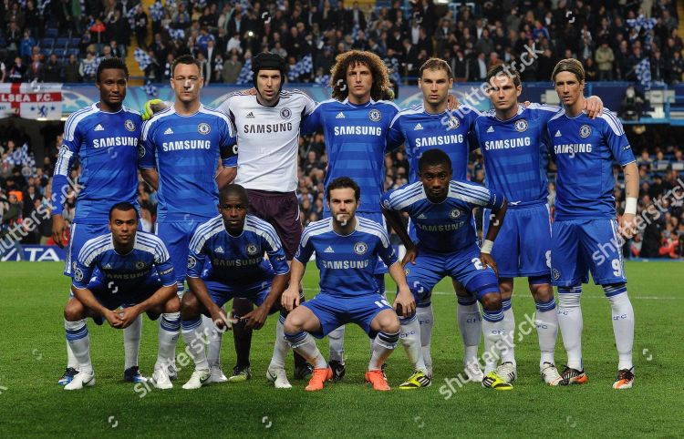 Team Chelsea Champions League 2012