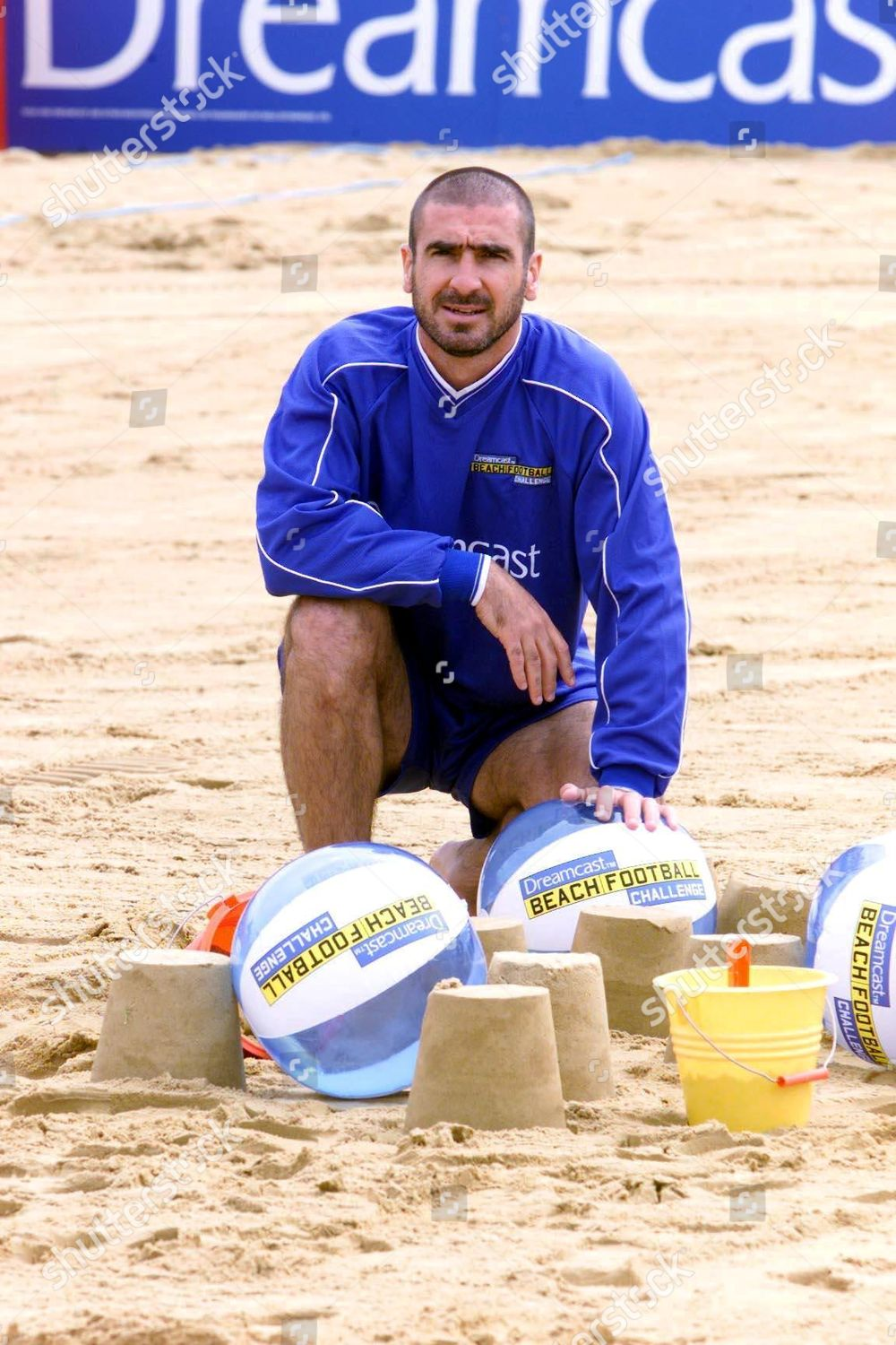 Eric cantona playing beach football for a french team against former manchester. Editorial Stock Photo Stock Image Shutterstock
