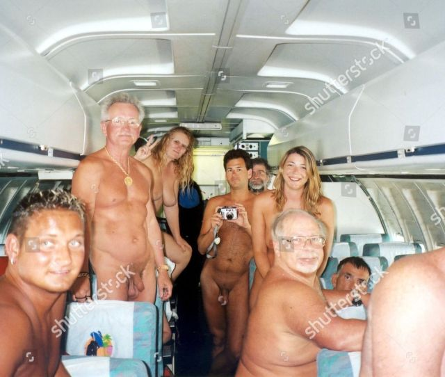 Naked Air Nudist Airline Editorial Stock Photo Stock Image