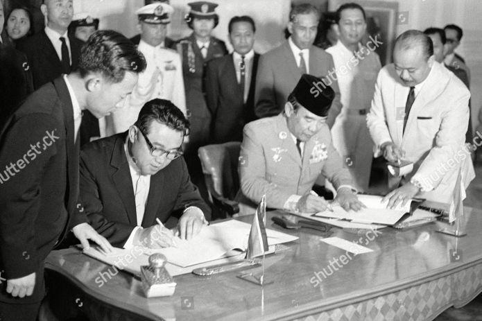 Indonesian President Sukarno North Korean Prime Minister Editorial Stock Photo Stock Image Shutterstock