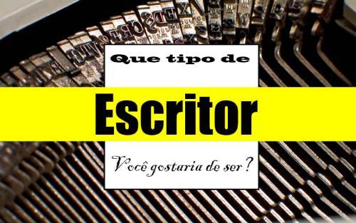 Que tipo de escritor você gostaria de ser? #PEDAblogBR