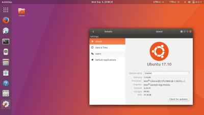 Ubuntu 17.10 – Versão final