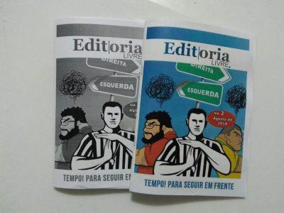 Segunda edição do fanzine Editoria Livre