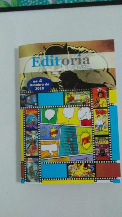 Quarta edição da revista Editoria Livre para download