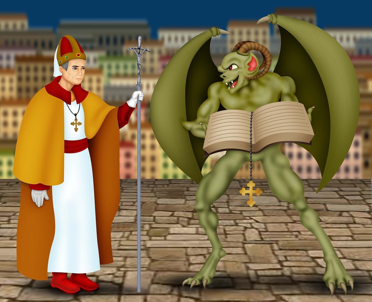 Los padres de la iglesia católica y sus perversos inventos
