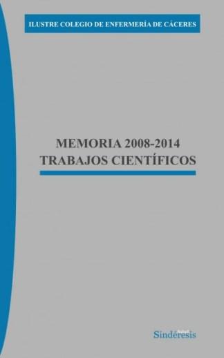 Portada MEMORIA TRABAJOS CIENTIFICOS FINAL