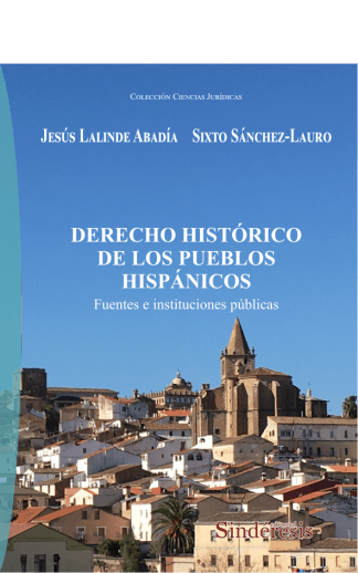 portada derecho histórico de los pueblos