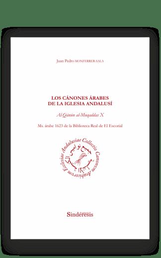 portada los canones arabes de la iglesia andalusi