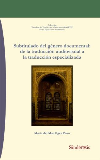 portada subtitulado del genero documental de la traducción especializada
