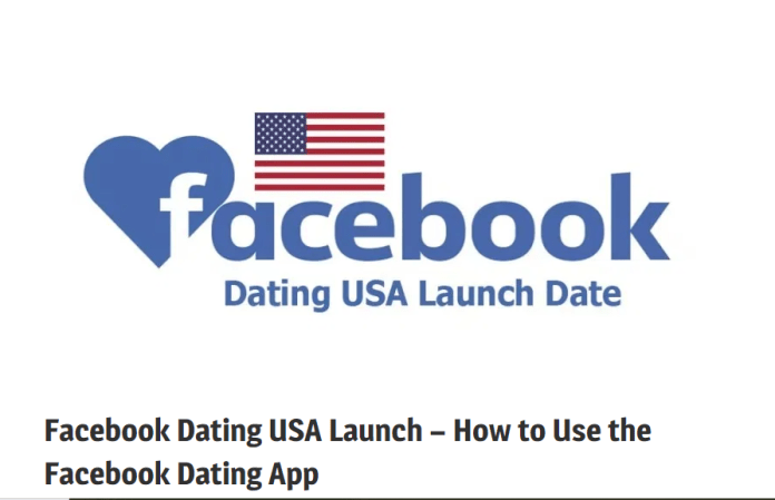 Facebook Dating USA Launch Date