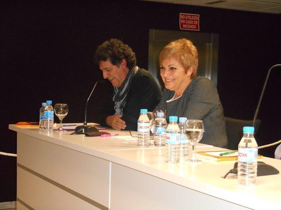 Paco López Mengual y la autora