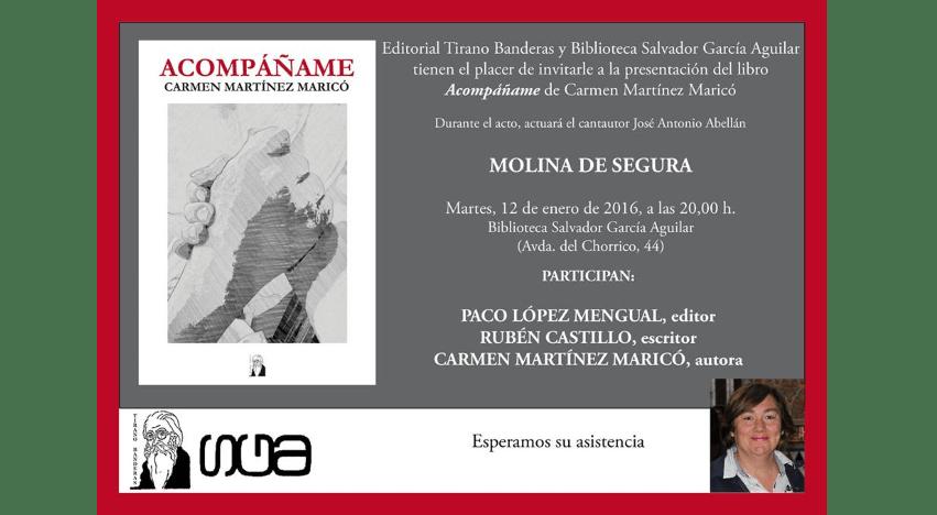 """Presentación de """"Acompáñame"""" en Molina de Segura"""