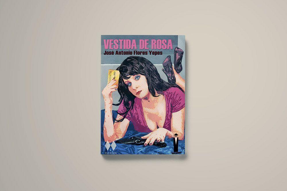 Presentación de la novela Vestida de rosa de José Antonio Flores Yepes
