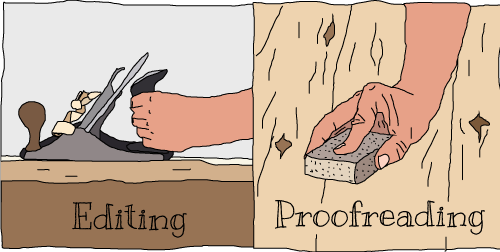 Editing Vs Proofreading