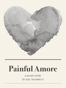 Title page for Painful Amore by Gail Tagarro Author