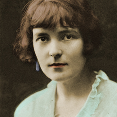 photo of katherine mansfield for Famous Authors Series - Katherine Mansfield