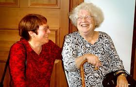 janet frame with her niece and literary executor for post Famous Authors Series – Janet Frame