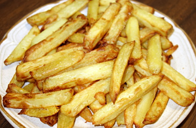Home made chips from Actifry