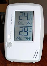Low humidity level