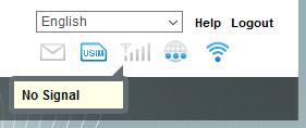 No signal icon