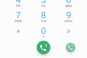 Dual SIM dialling