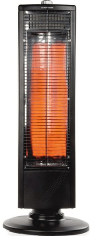 Electric carbon heater