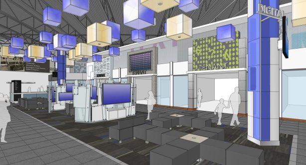 Vaughan Mills Expansion Digital Lounge-Cineplex2