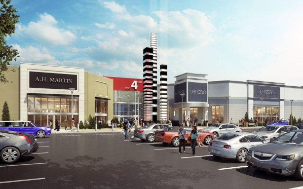 Vaughan Mills Expansion Entry 4A Rendering