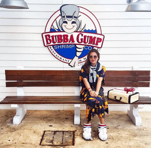 bubba gump cancun - gracie carroll