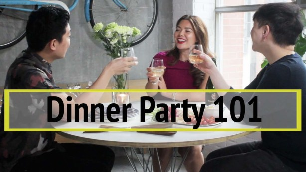 how to host a dinner party - my top 10 tips #justcook