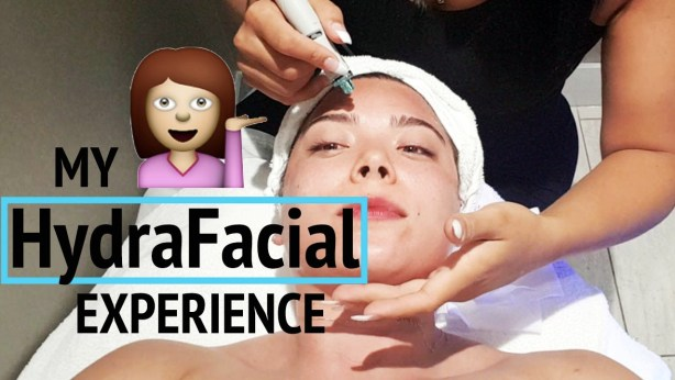 Gracie Carroll - HydraFacial Experience before & after results