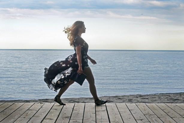 Gracie Carroll - What I Wore - Mendocino Toronto - David Gillespie