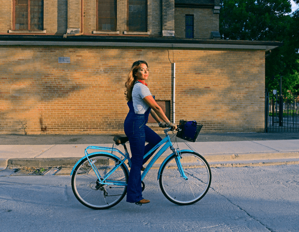 What I Wore: 70s Overalls and A New Schwinn Bike from Canadian Tire