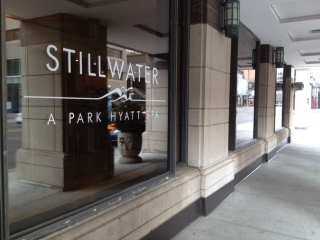 stillwater spa toronto hyatt gracie carroll