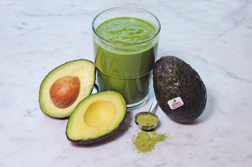 Gracie Carroll - At-Home Workout and Avocado Matcha Smoothie Recipe