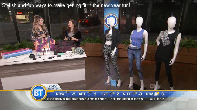 Gracie Carroll BT Toronto - stylish and fun ways to get fit