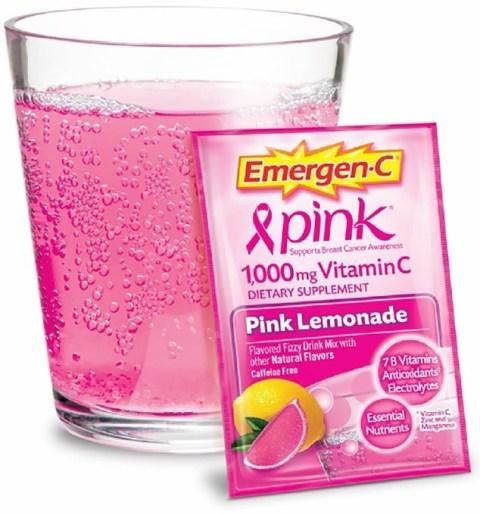 Emergen-C pink lemonade