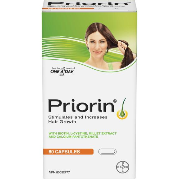 Gracie Carroll - Through Thick and Thin: My Hair Loss and Hair Growth Journey - PRIORIN